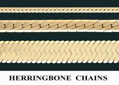 Herringbone Chains