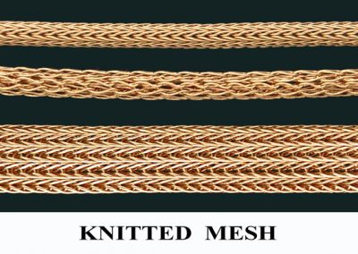 Knitted Mesh Chains